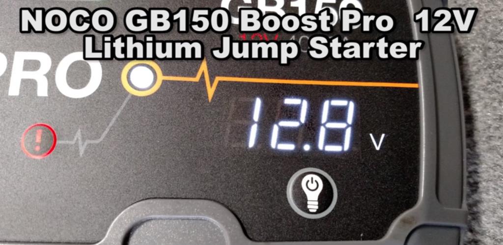 NOCO Genius Boost Jump Volt Meter