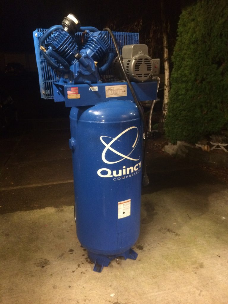 Best Reciprocating Compressor - Quincy QT 54
