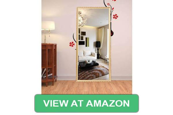Hans & Alice Rectangular Full Length Floor Mirror