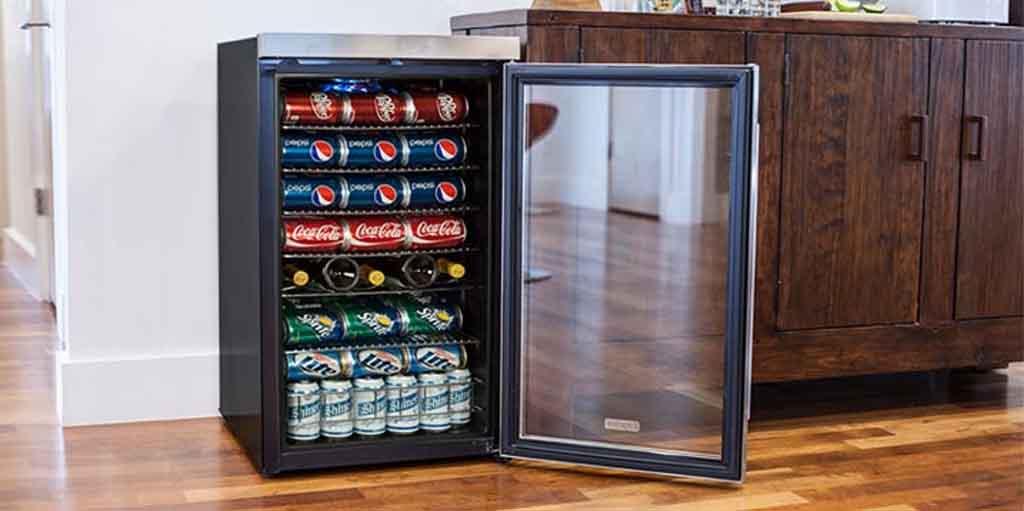 Homelabs 120 Can Mini Beverage Cooler