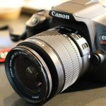 Canon EOS Rebel T6 DSLR Kit With Lens