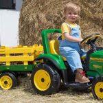 Peg Perego John Deere Tractor with Trailer