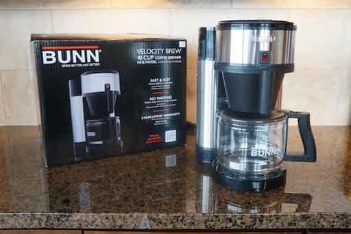 Bunn nhs brew coffee maker