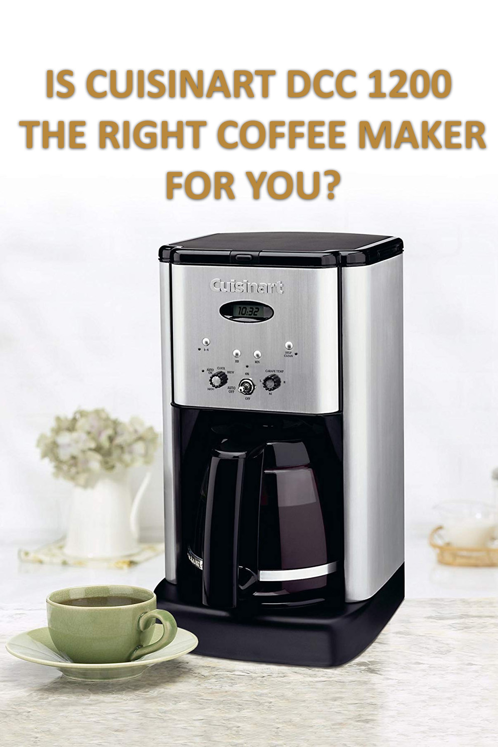 Cuisinart DCC 1200 Brew Central 12 Cups Programmable Coffee Maker