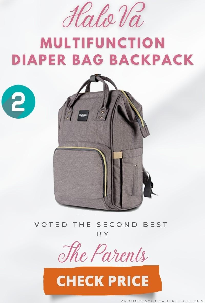HaloVa diaper bag backpack 2021