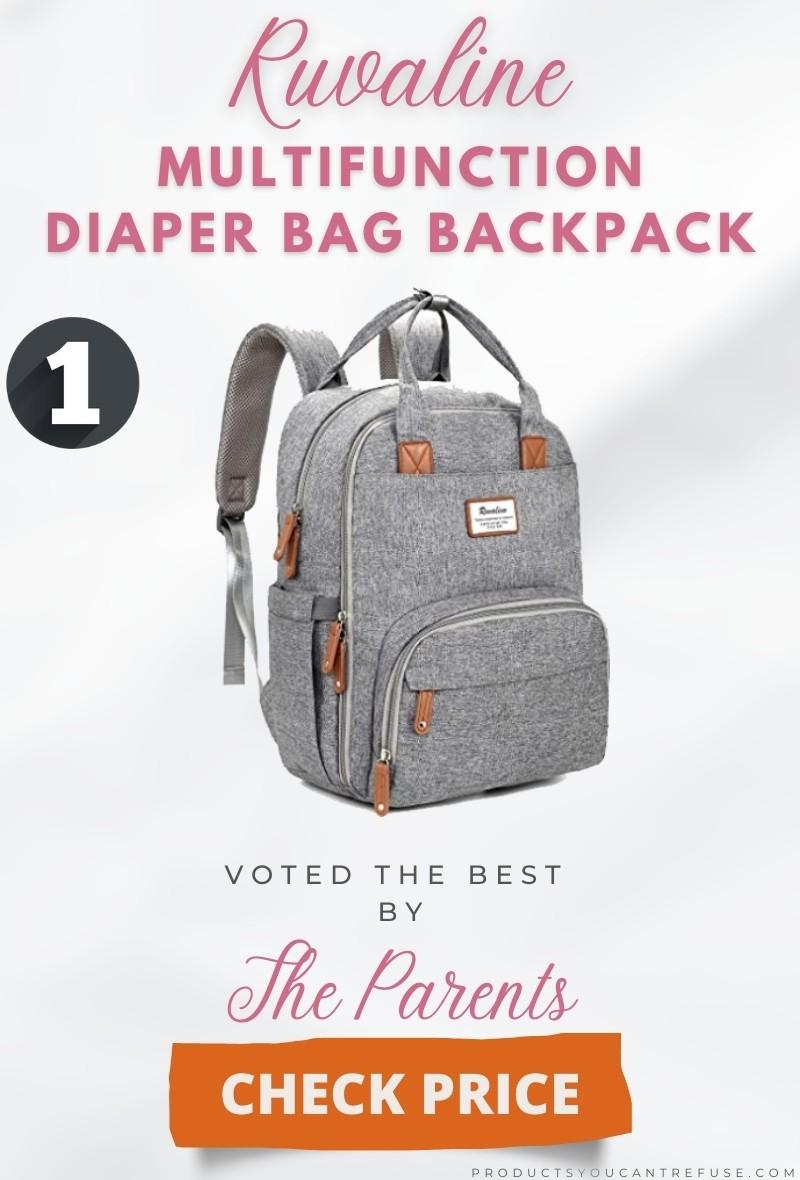 RUVALINO best diaper bag backpack 2021