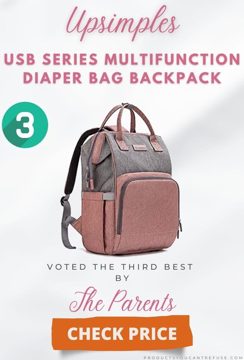 Upsimples diaper bag backpack 2021