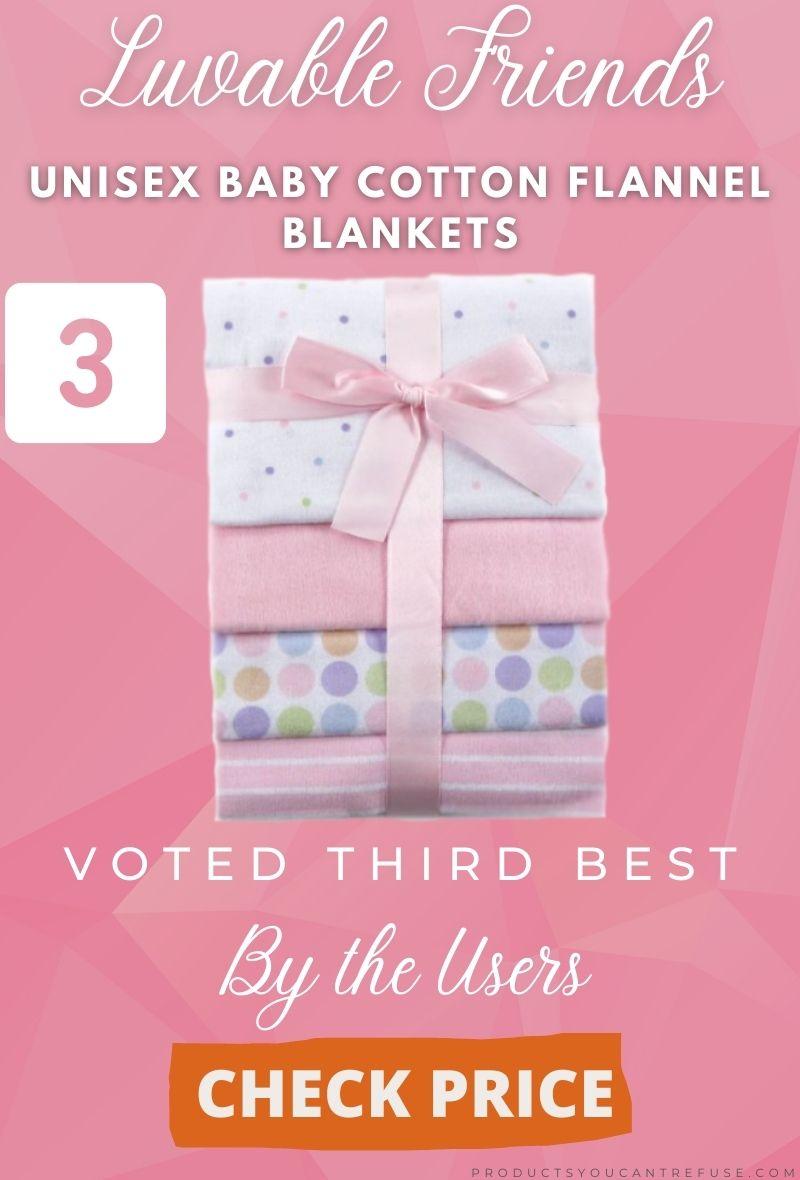 luvable friends receiving blankets
