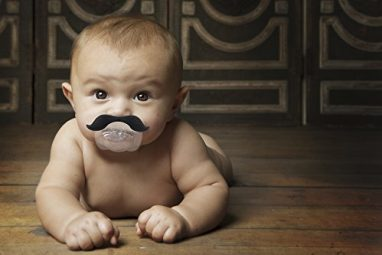 Funny Baby Pacifier Mustache For Babies and Toddlers