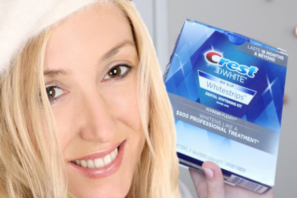 Teeth Whitening Strips Kit