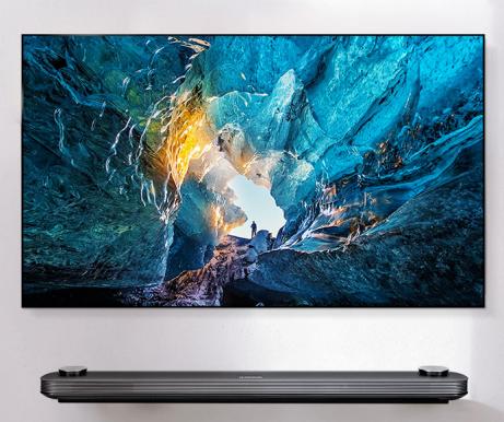 LG Signature OLED wallpaper TV 65inch 4K (July 2018)