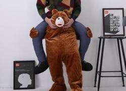 Hilarious Piggyback Riding Shoulder of Bear Costume