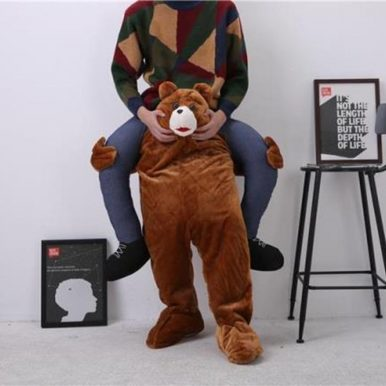 Hilarious Piggyback Riding Shoulder of Bear Costume
