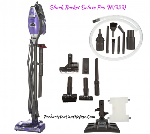 Shark Rocket Deluxe Pro Wired Hv323 Vacuum Cleaner Review